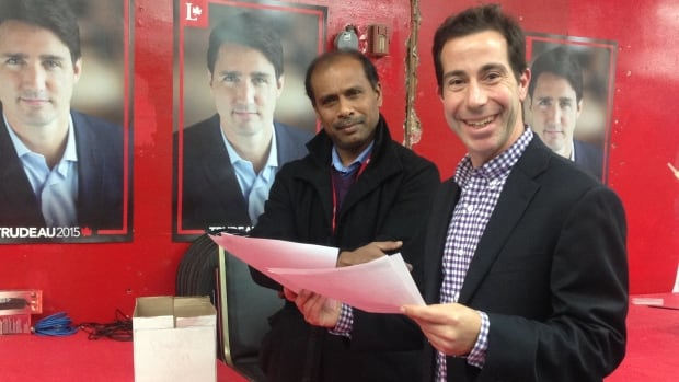 Anthony Housefather won the Mount Royal riding for the Liberals in the last federal election.