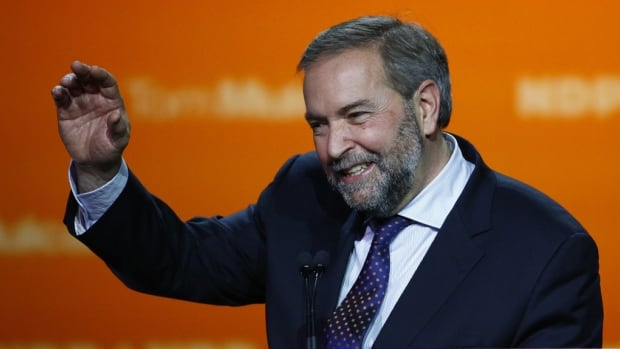 Tom Mulcair will be looking for a vote of confidence from party members in the NDP's party convention in April.