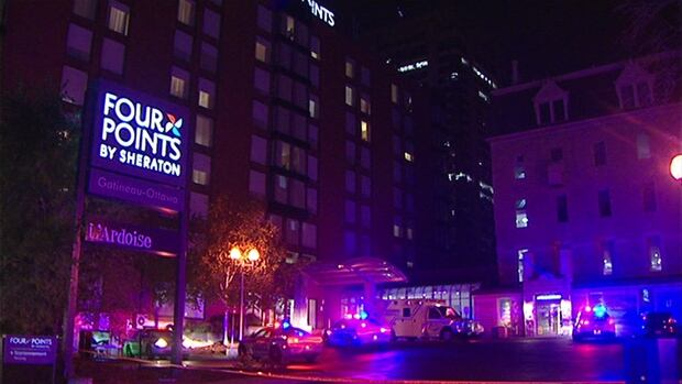 police shooting four points sheraton hotel gatineau