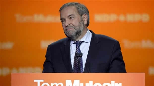 Tom Mulcair managed to win his own riding of Outremont, but NDP support in Quebec tanked in the Oct. 19, 2015 federal election.