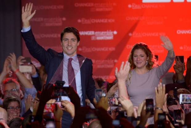 Justin Trudeau federal election 2015
