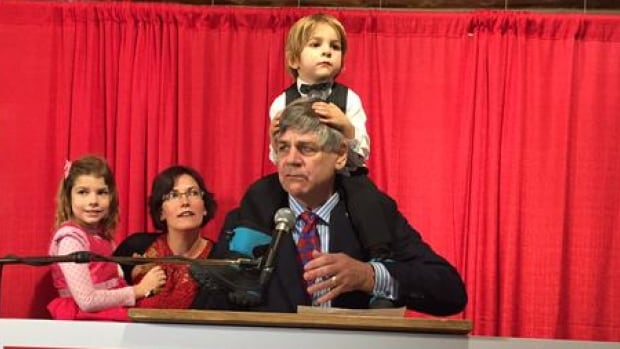 Yukon Liberal MP Larry Bagnell flies more than 20 hours each week to see his wife, Melissa, and children Aurora and Dawson.