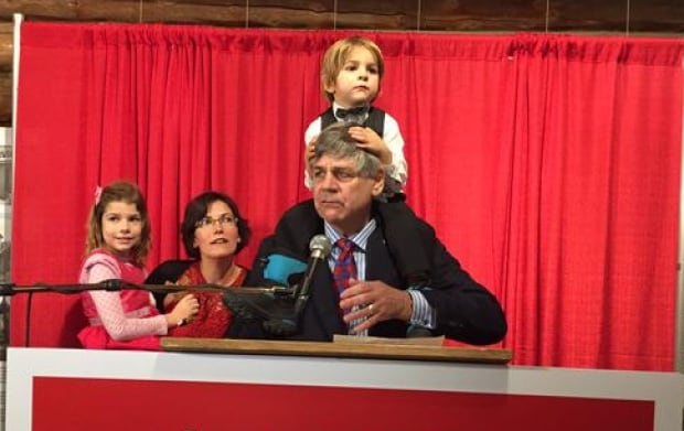 Larry Bagnell and family