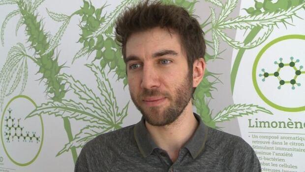 Adam Greenblatt, co-founder of the medical marijuana clinic Santé Cannabis, says some of the tax revenue from marijuana could go toward awareness campaigns.