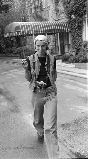 Margaret Trudeau photographer 1975 Rideau Hall private collection Rod MacIvor