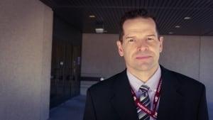 Staff Sgt. Scott Bird, 'D' Division Staff Relations Representative