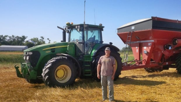 Manitoba farmer Matt Reimer.