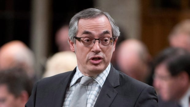 Tony Clement speaks to the House of Commons as a Conservative cabinet minister in March 2015. He sees things differently now as a member of the Official Opposition.