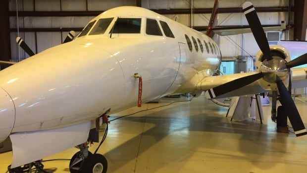 This British Aerospace Jetstream 31 aircraft and associated equipment, manuals and training aids were donated to Red River College on Thursday.