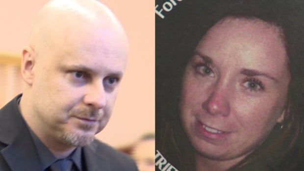 Trevor Pardy stands trial for the 2011 shooting death of his ex-girlfriend Triffie Wadman, 30.