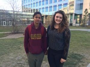 University Calgary students