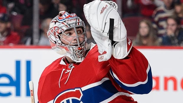 Carey Price hasn't played since Nov. 25 and won't return before the NHL all-star break, which runs through Feb. 1.