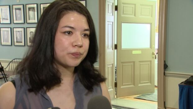 Michaela Sam of Canadian Federation of Students-Nova Scotia says a decision to lift the cap off tuition fees in Nova Scotia is a 'reckless gamble.'