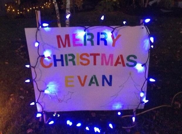 Evan Leversage Christmas early St. George Ont.
