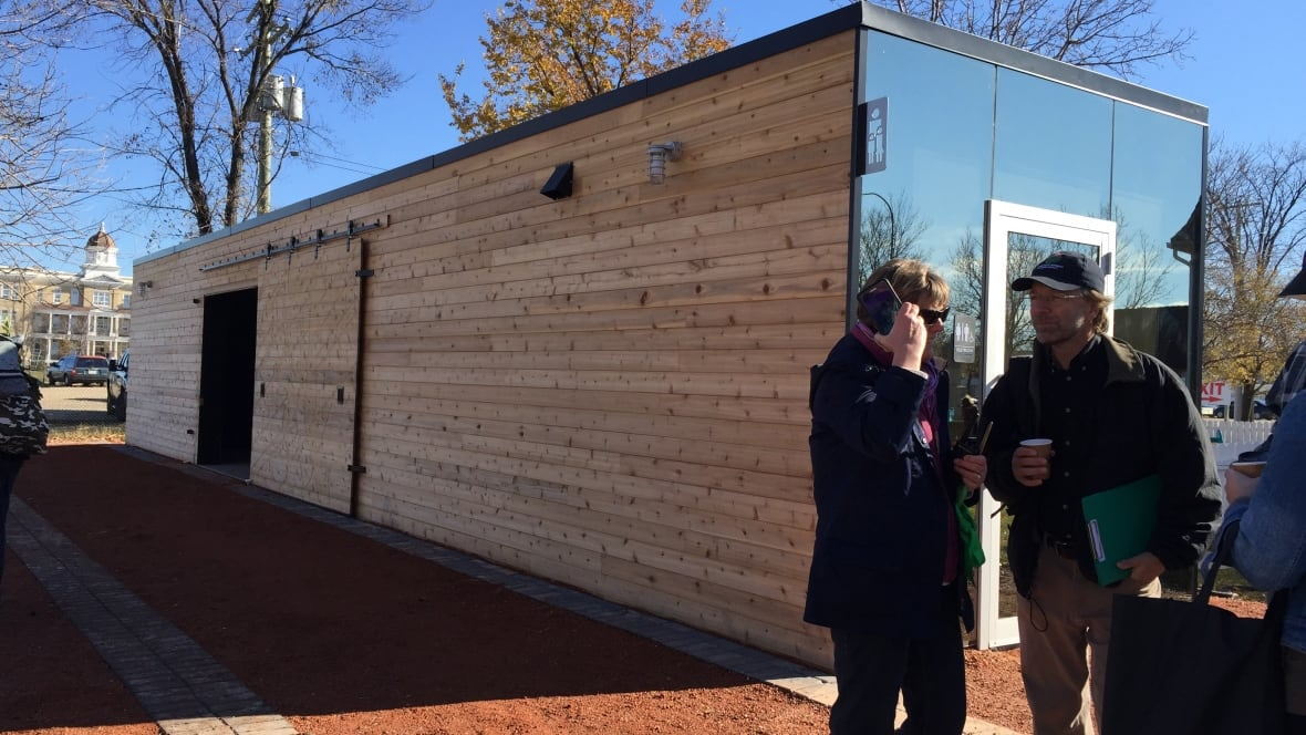 Farmers Market Portable Toilet : New washrooms at st norbert farmers market honoured with