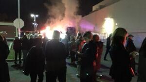 Whoopi Goldberg bus fire