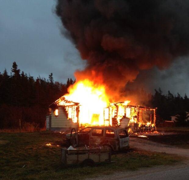 Flat Bay fire