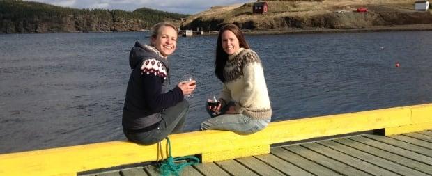 Sonja Mills and Alicia MacDonald, Port Rexton Brewing Company