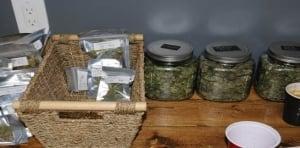 Marijuana seized from Compassion Club