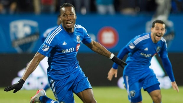 Montreal Impact's Didier Drogba scored 12 goals in 13 games since joining the Impact in September.