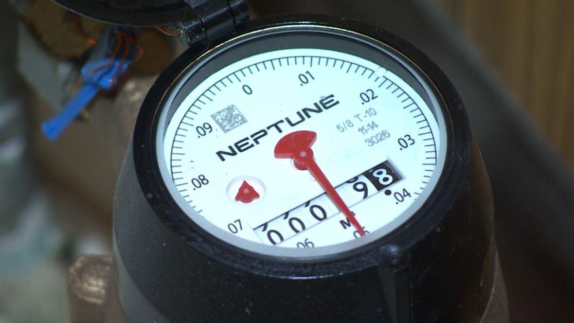 how to read water meter toronto