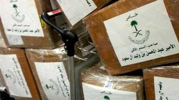 According to reports, Saudi Prince Abdul Mohsen bin Walid bin Abdul Aziz al-Saudand attempted to fly out of the Beirut airport in a private jet with 40 suitcases -- chalk full of drugs.