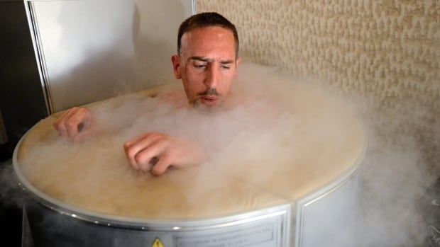 Cryotherapy devices expose the user to liquid nitrogen, which drastically drops one's body temperature, for brief periods at a time.