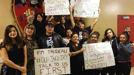 Manitoba MMIW families, #ourinquiry