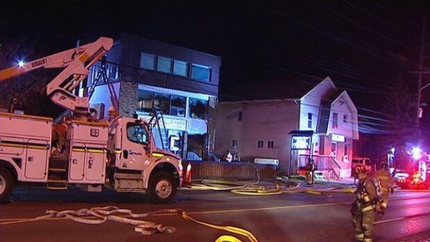 no injuries after overnight fire damages vanier restaurant