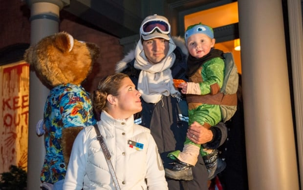 Trudeau Family Halloween 20151031