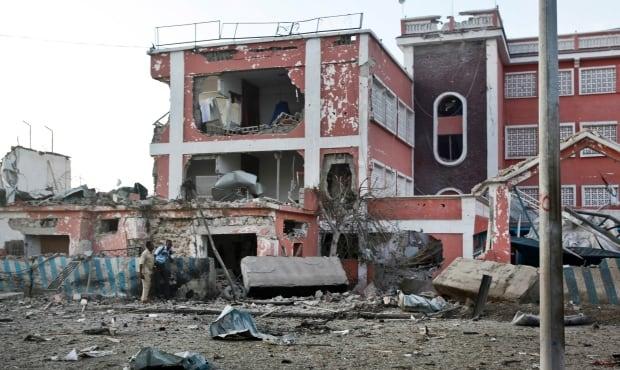 Somalia attack on Sahafi Hotel