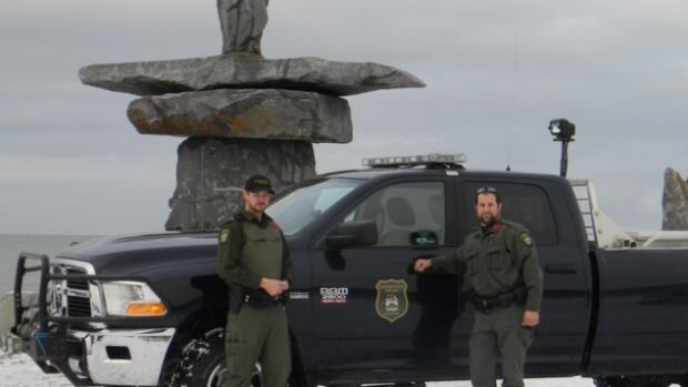 A group made of Manitoba Conservation, RCMP, Parks Canada, Canadian Rangers, Manitoba Hydro and residents in Churchill team up every Halloween to ensure trick-or-treaters don't have any polar bear encounters.