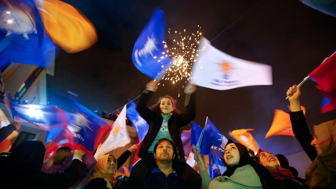 Turkey election: AKP declares victory after restoring ...