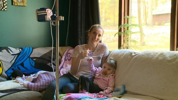 Marilyne Picard has won a battle to receive more health care for her daughter Dylane, 3.