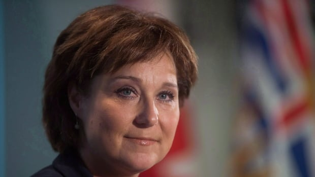 """Christy Clark says of a coming report from Bob Plecas on problems at the MCFD: """"I bet he's going to say we need to put more resources into the ministry, I'm going to be able to say yes, let's put more resources into the ministry, because British Columbians have worked so hard for four years to stabilize our economy."""""""