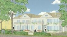 Halifax hospice rendering 618 and 620 Francklyn Street