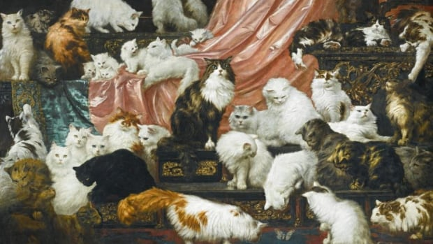 My Wife's Lovers, by Austrian artist Carl Kahler, was auctioned off by Sotheby's in New York on November 3rd. The massive painting sold for $1,092,159 Cdn ($826,000 US).