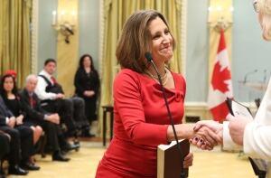 LIB Chrystia Freeland Ontario MP