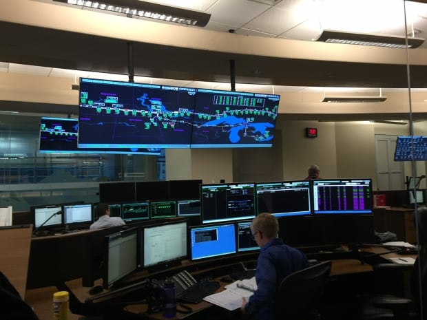 TransCanada's pipeline monitoring centre
