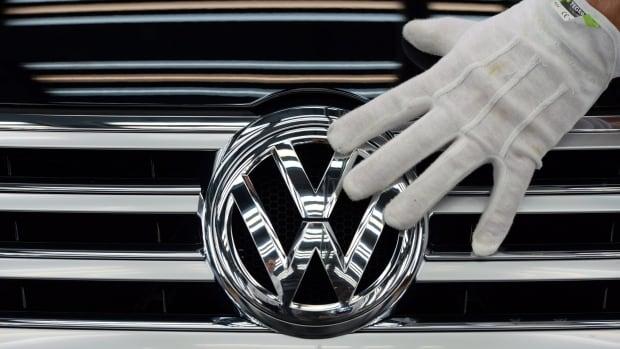Volkswagen Canada rolled out print ads in newspapers across the country, showing its own logo with the words: 'Remember when this stood for integrity and trust? So do we.'