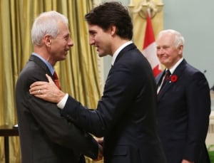 Minister of Foreign Affairs Stephane Dion Trudeau cabinet Nov 4 2015