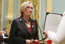 Minister of Indigenous and Northern Affairs Carolyn Bennett Nov 4 2015