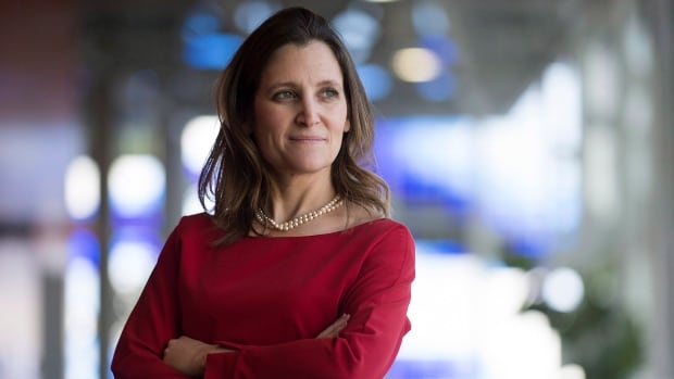'I think now it is incredibly dangerous and very wrong to persecute Muslims and say there is something wrong with being a Muslim,' Trade Minister Chrystia Freeland said on U.S. television.