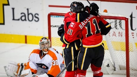 Mikael Backlund's OT Goal Sends Flames Past Flyers