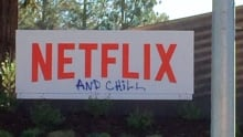 Netflix and Chill sign