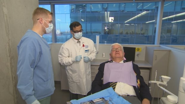 Dentures can cost upwards of $3,000. But with corporate support, George Brown's dental program is able to offer them in the range of about $200-350 for a set. It could vary from complete dentures to partial dentures depending upon the need of the patient.