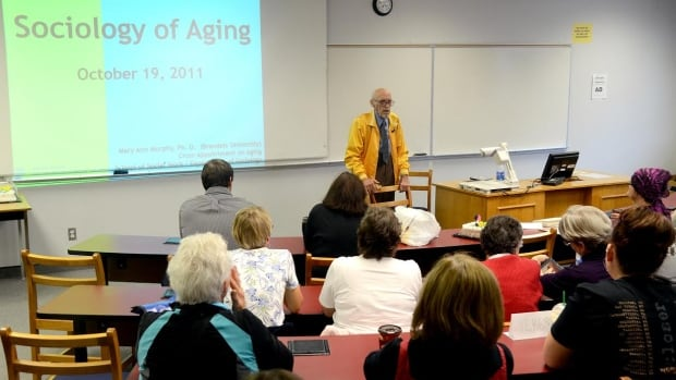 Seniors began attending Mary Ann Murphy's aging courses in 2011 to share their perspectives.