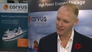 Corvus Energy CEO Andrew Morden