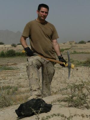 Chad Miron dog PTSD