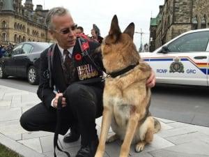 Rob Martin PTSD Ottawa Remembrance Day veteran Nov 11 2015